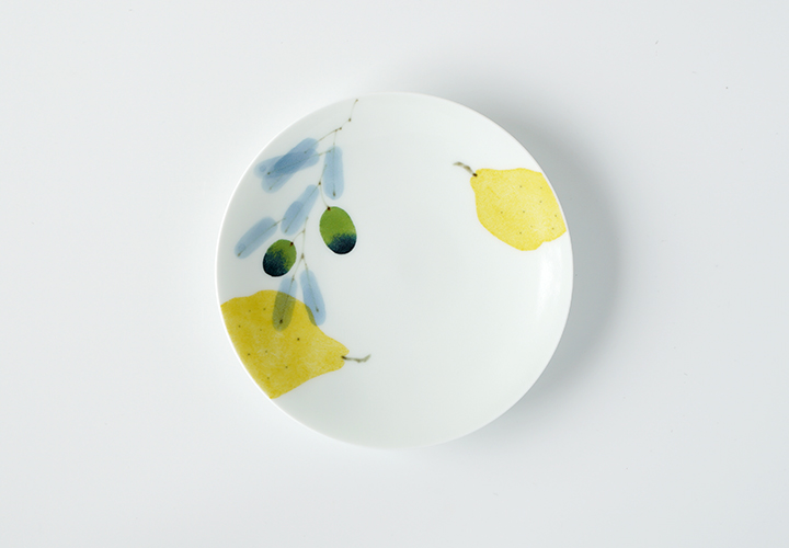 波佐見焼 陶房青 AO SHOP 吉村陶苑 プレゼント マティーニ 丸皿 4寸皿 ケーキ皿 取皿