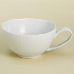 白磁線彫 スープカップ