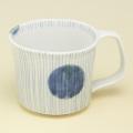 丸紋十草 マグカップ